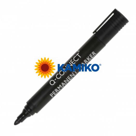 Permanentný popisovač 1,5-3mm Q-CONNECT čierny