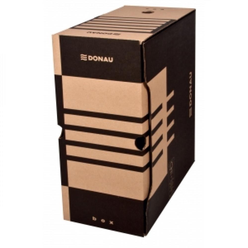 Archívny box 155mm hnedý