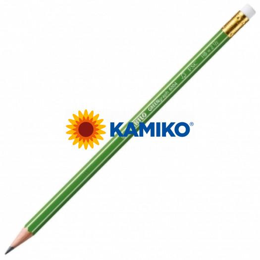 Ceruzka STABILO GREENgraph s gumou HB 12 ks