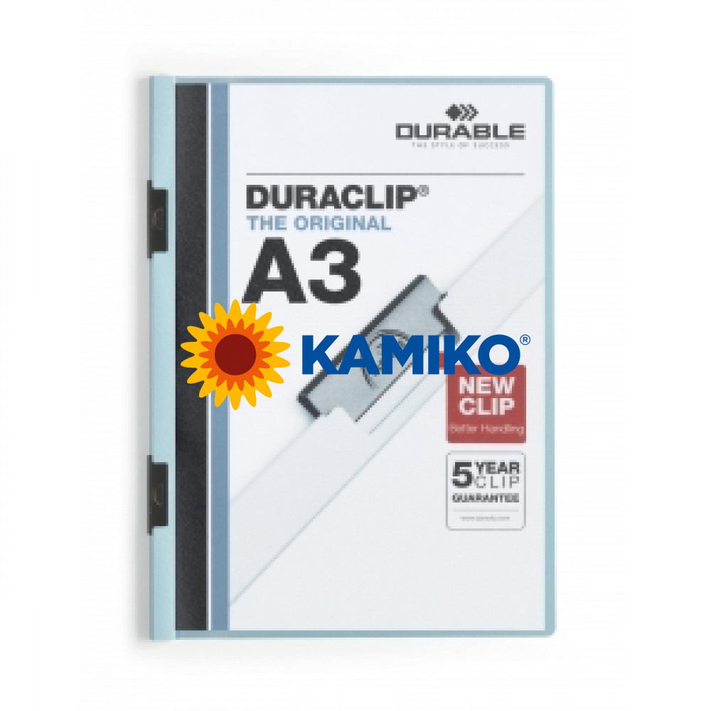 DURACLIP A3 modrý