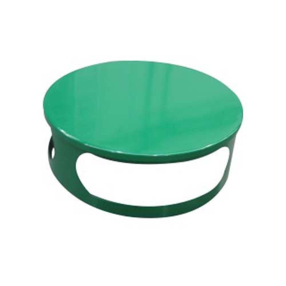 Veko koša pre betónový kôš 180 kg - lak zelený