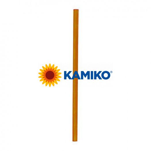 Slamky JUMBO, 25cm, pr. 8 mm, oranžové