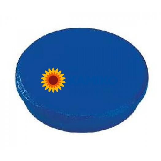 Magnet 24 mm modrý