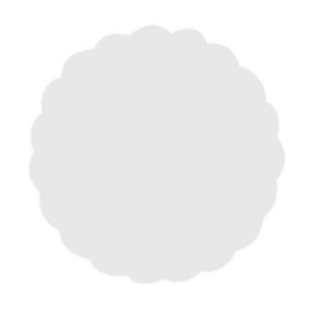 Rozetky do podšálky biele 9 cm
