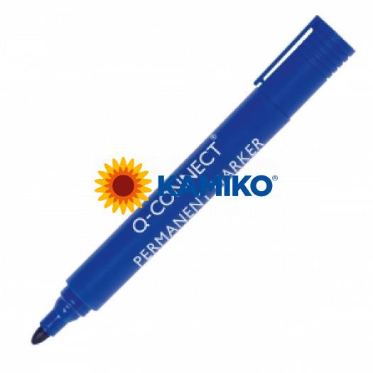 Permanentný popisovač 1,5-3mm Q-CONNECT modrý
