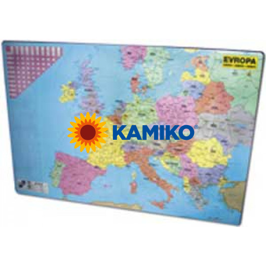 Podložka s mapou Európy 40x60cm