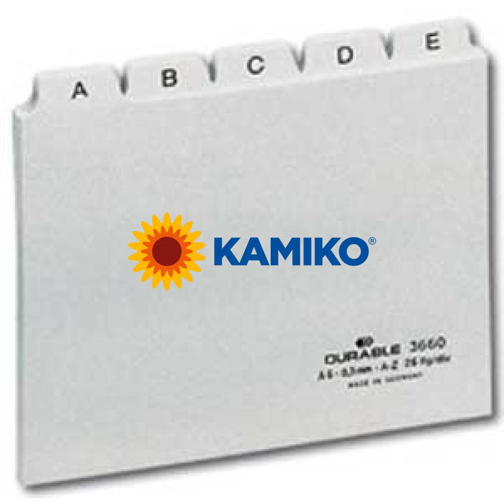 Plastové indexové kartičky A6 do kartotéky HAN 986