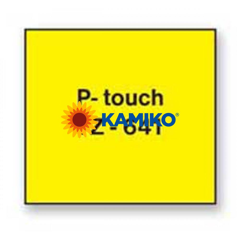 TZe-641 Páska 18mm žltá/čierna