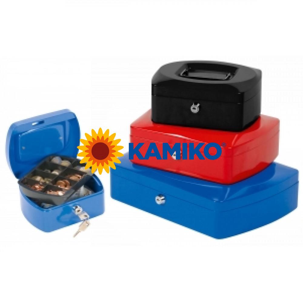 Pokladnička Q-CONNECT 205 x 85 x 160 mm čierna