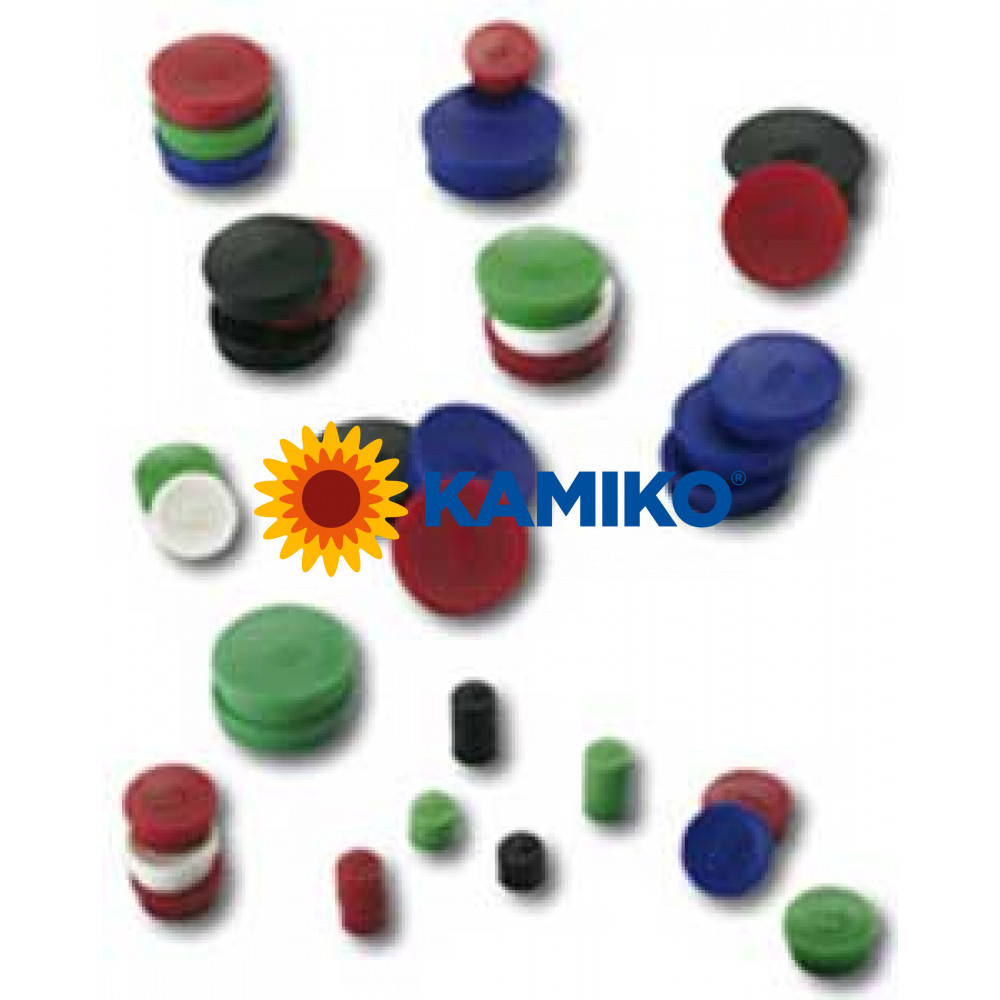 Magnet 30 mm čierny 10 ks