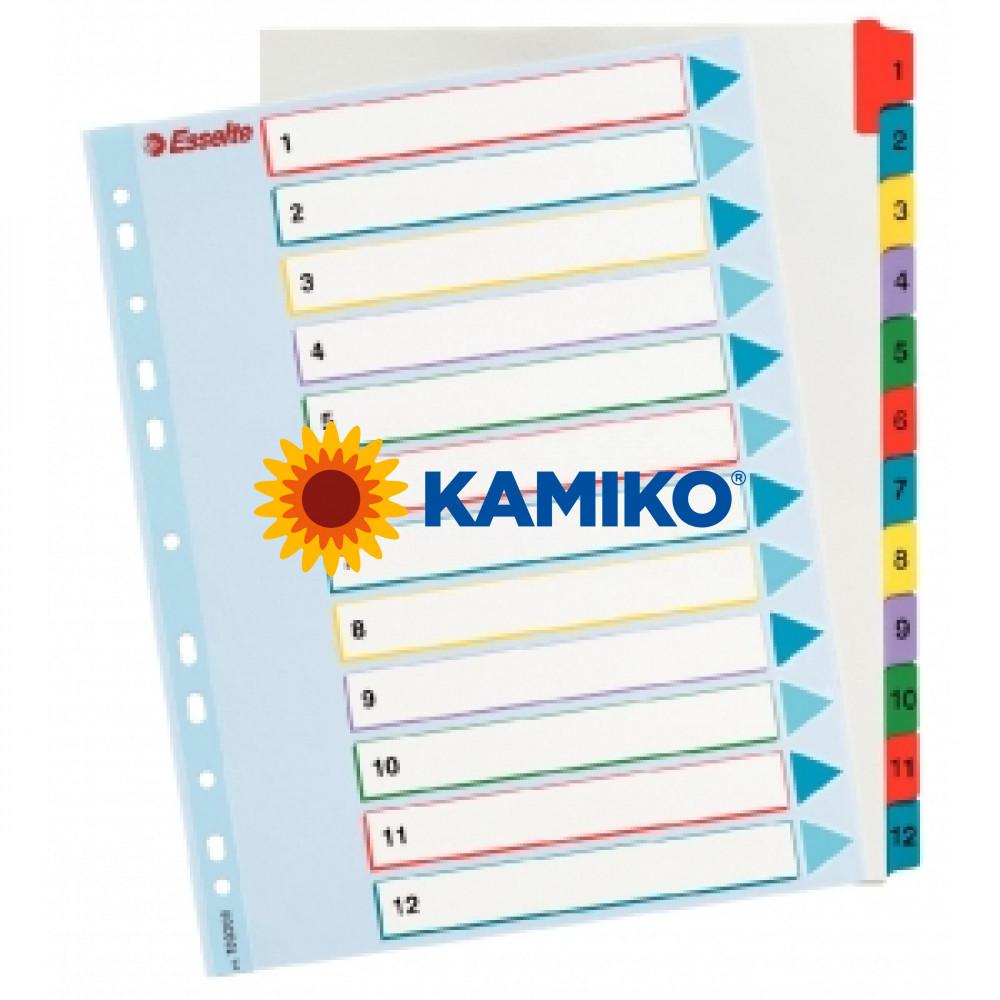 Kartónový rozraďovač ProjectPro maxi 1-12