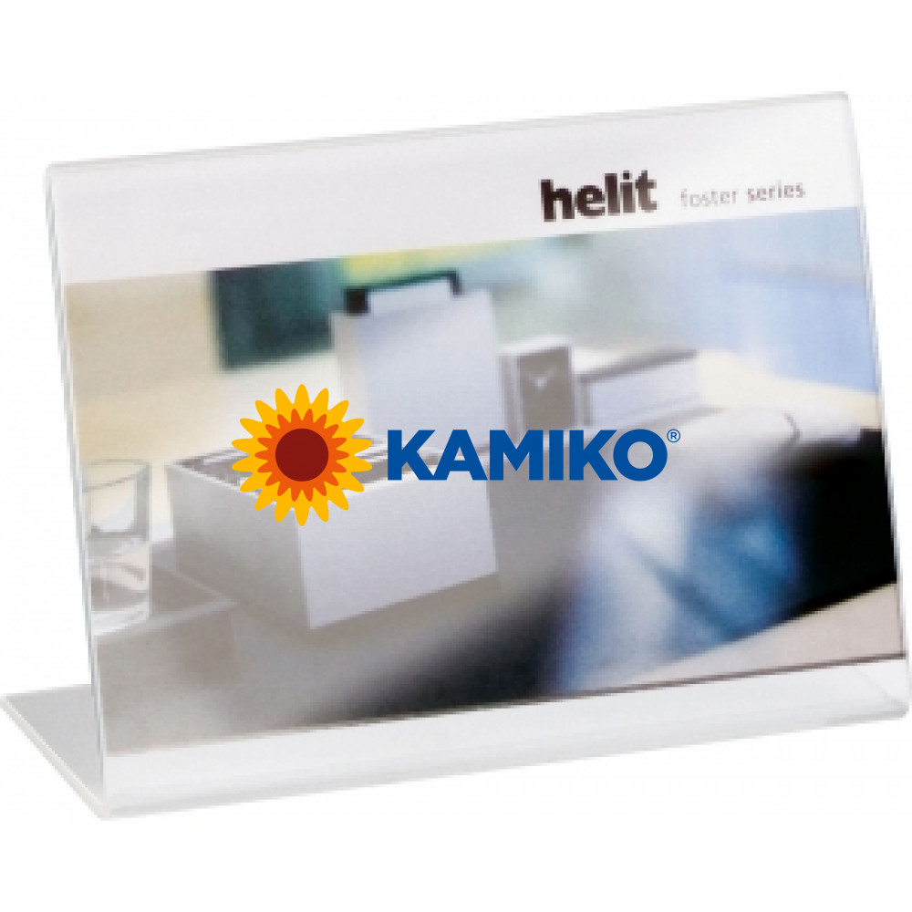 Prezentačný stojan Helit 150 x 100 mm