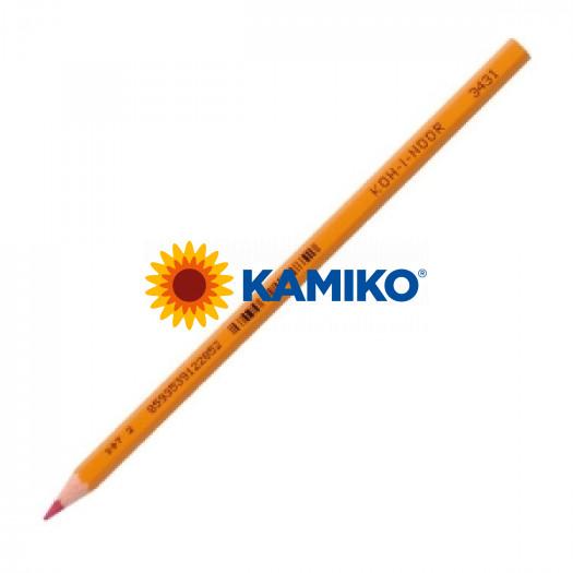 Ceruzka Koh-i-noor červená 3431 12 ks