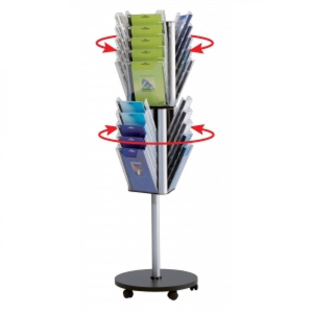 Otočný podlahový stojan COMBIBOXX stand A4