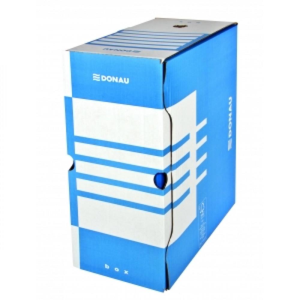 Archívny box 155mm modrý