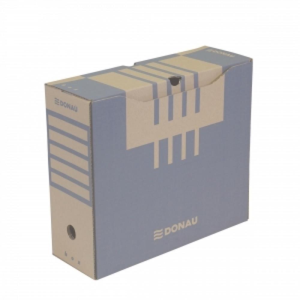 Archívny box 120mm hnedý