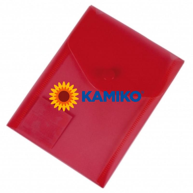 Plastový obal A6 červený Donau