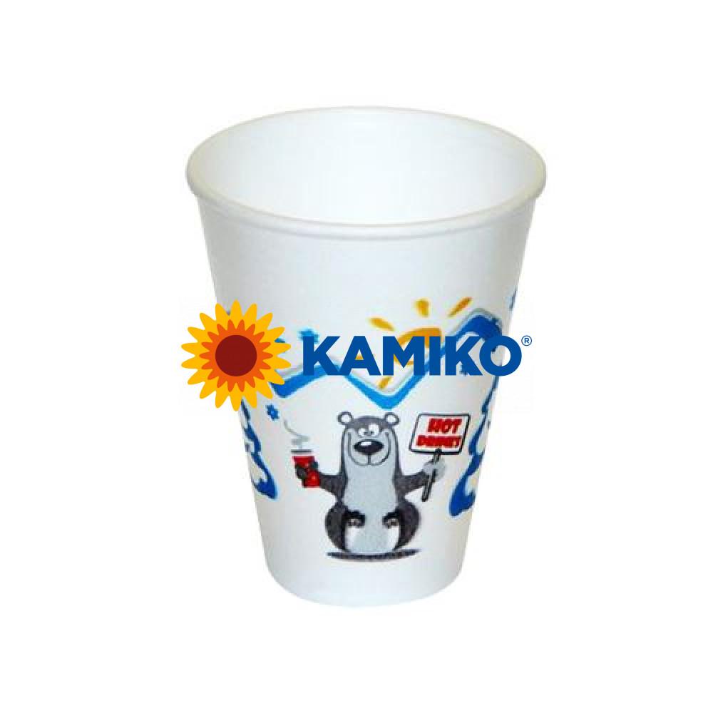 """Termo-pohár """"zimná pauza"""" 0,2 l, Ø 80 mm, 50 ks - DOPREDAJ"""