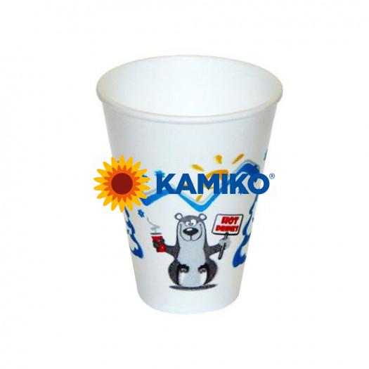 Termo-pohár zimná pauza z penového EPS 200 ml