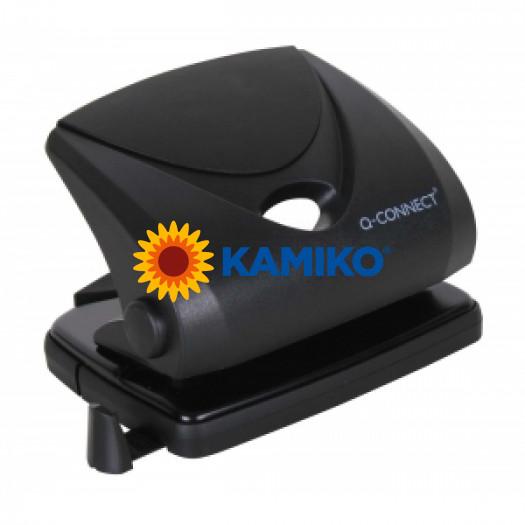 Dierovačka  Q-Connect KF01234 čierna na 16 listov