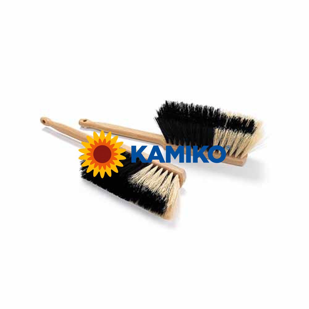 Metlička drevená 28 cm syntetický vlas