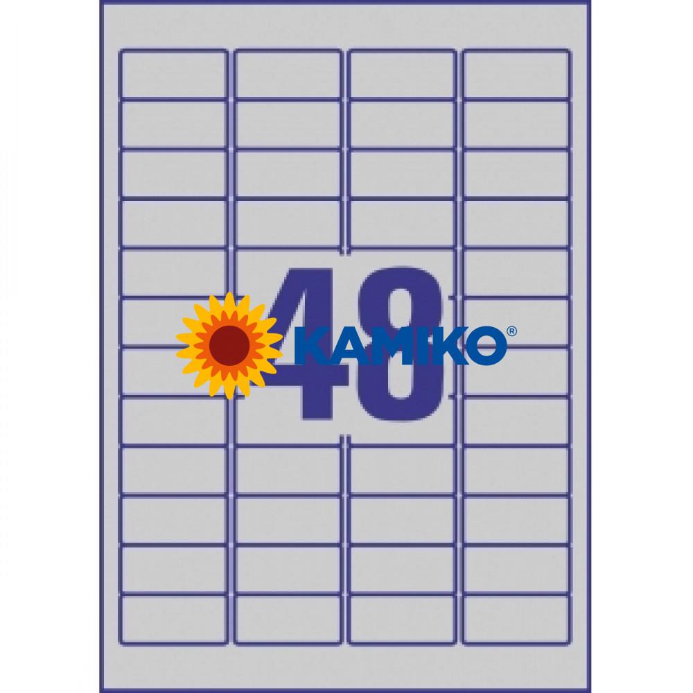Etikety Avery 45,7 x 21,2 mm, polyesterové strieborné