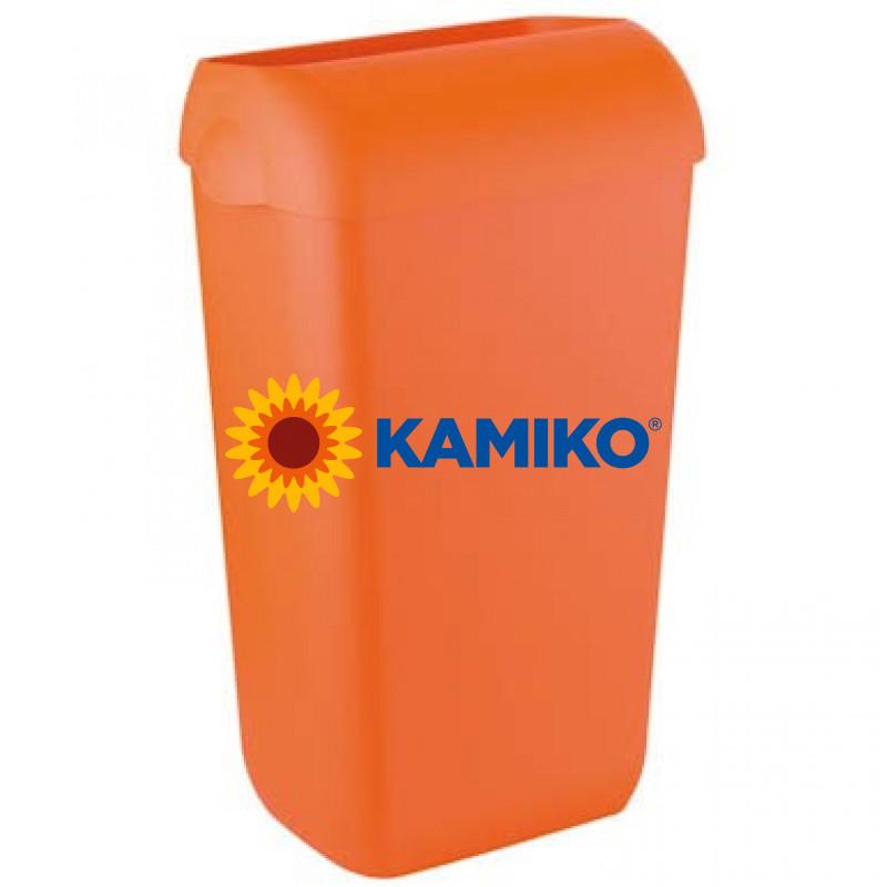 Kôš na odpad COLORED EDITION 23 L plastový, oranžový