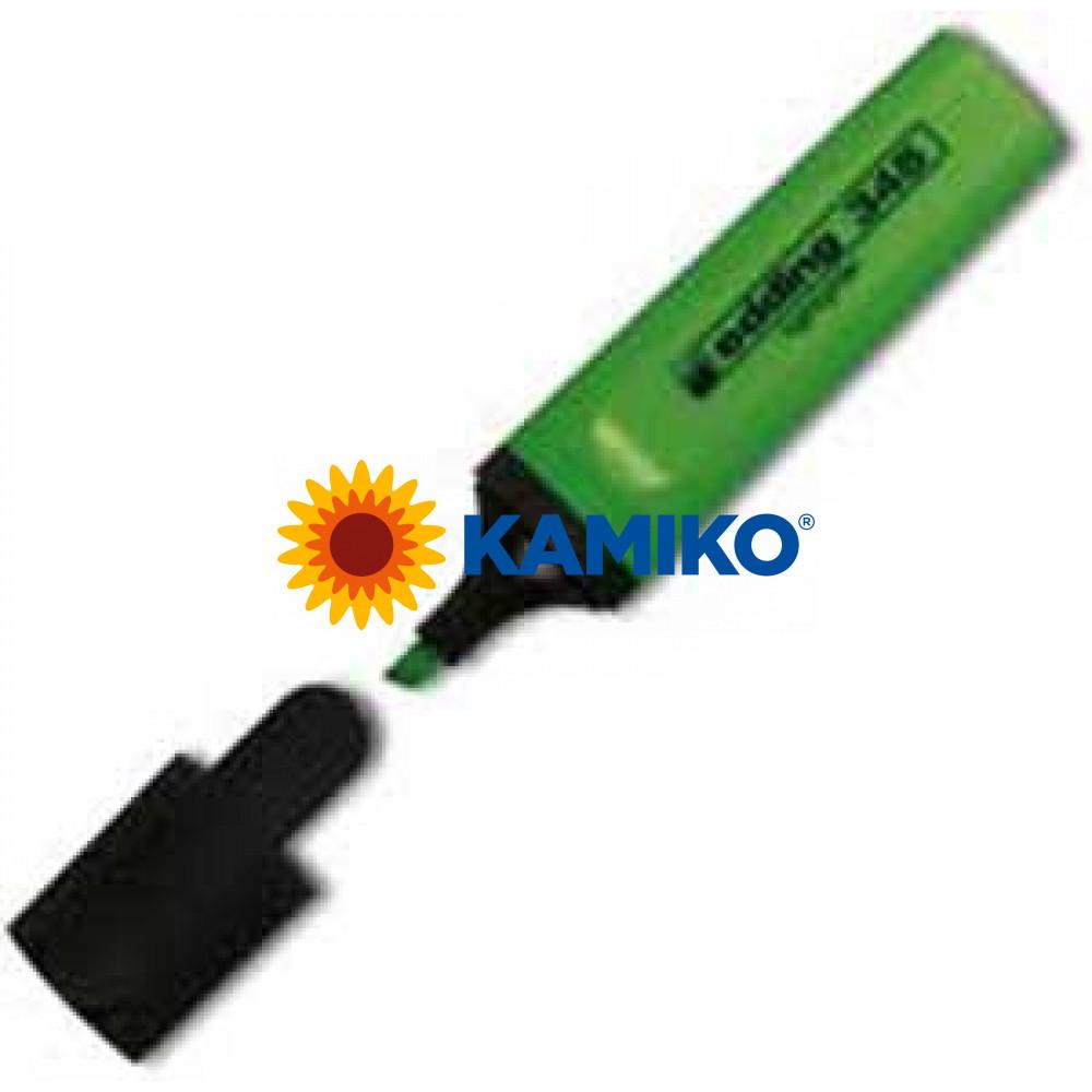 Zvýrazňovač edding 345 svetlozelený