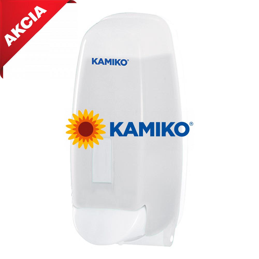 Dávkovač tekutého mydla KAMIKO 1 000 ml, QTS trasparentný