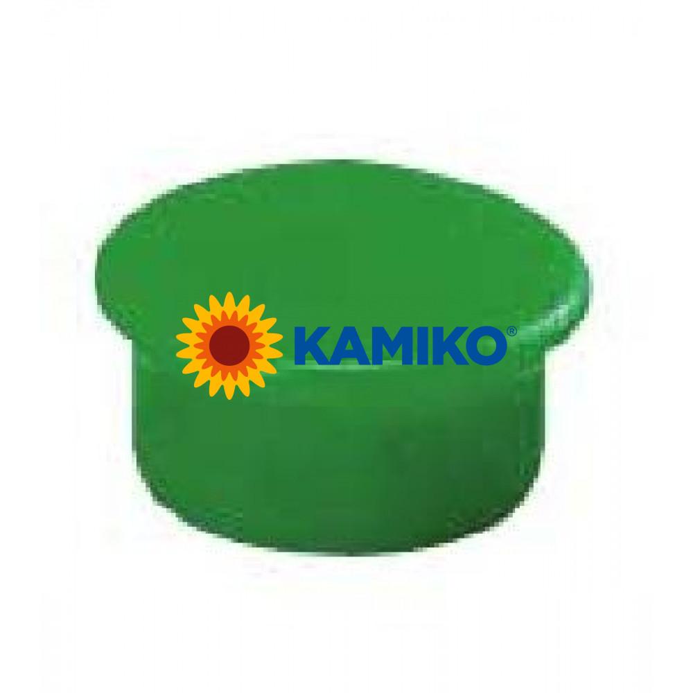 Magnet 13 mm zelený