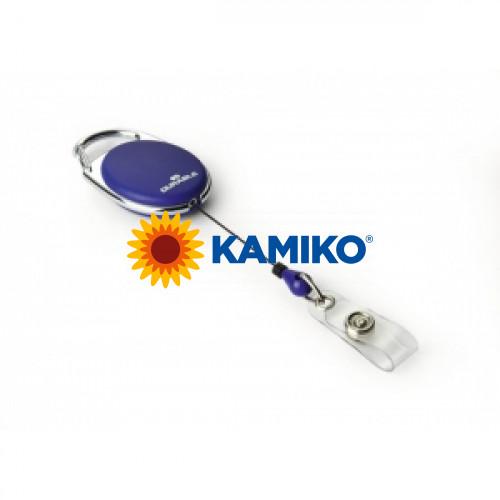 Vysúvací kotúč ovál modrý