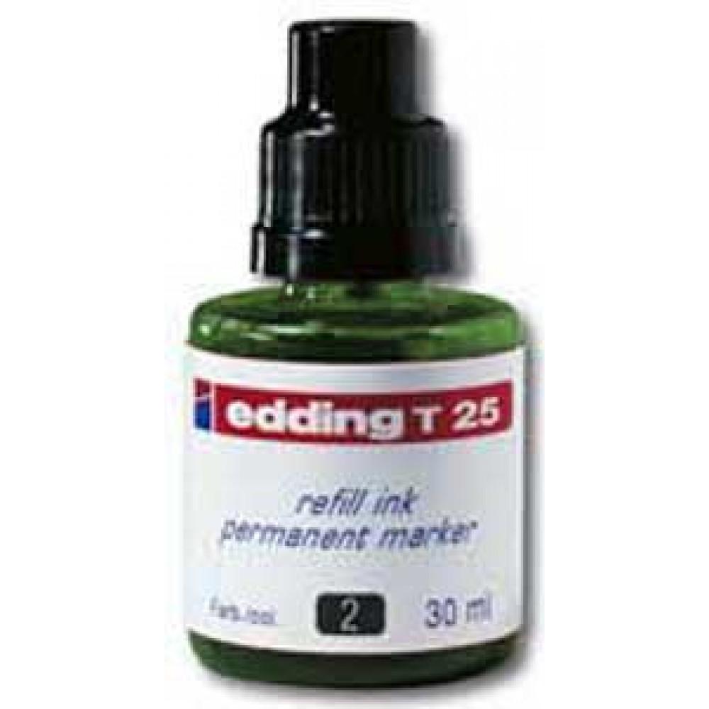 Atrament edding T 25 zelený