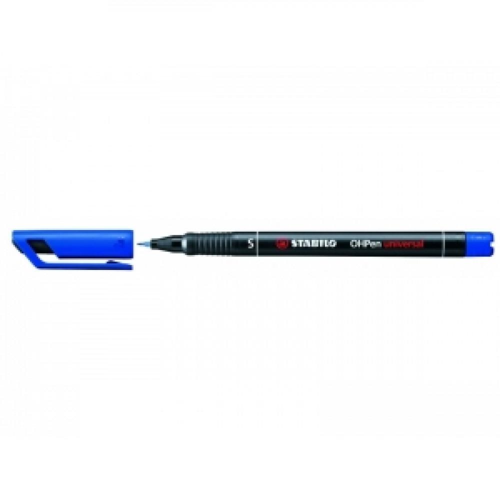 Popisovač Stabilo 841 OHPen S 0,4mm modrý