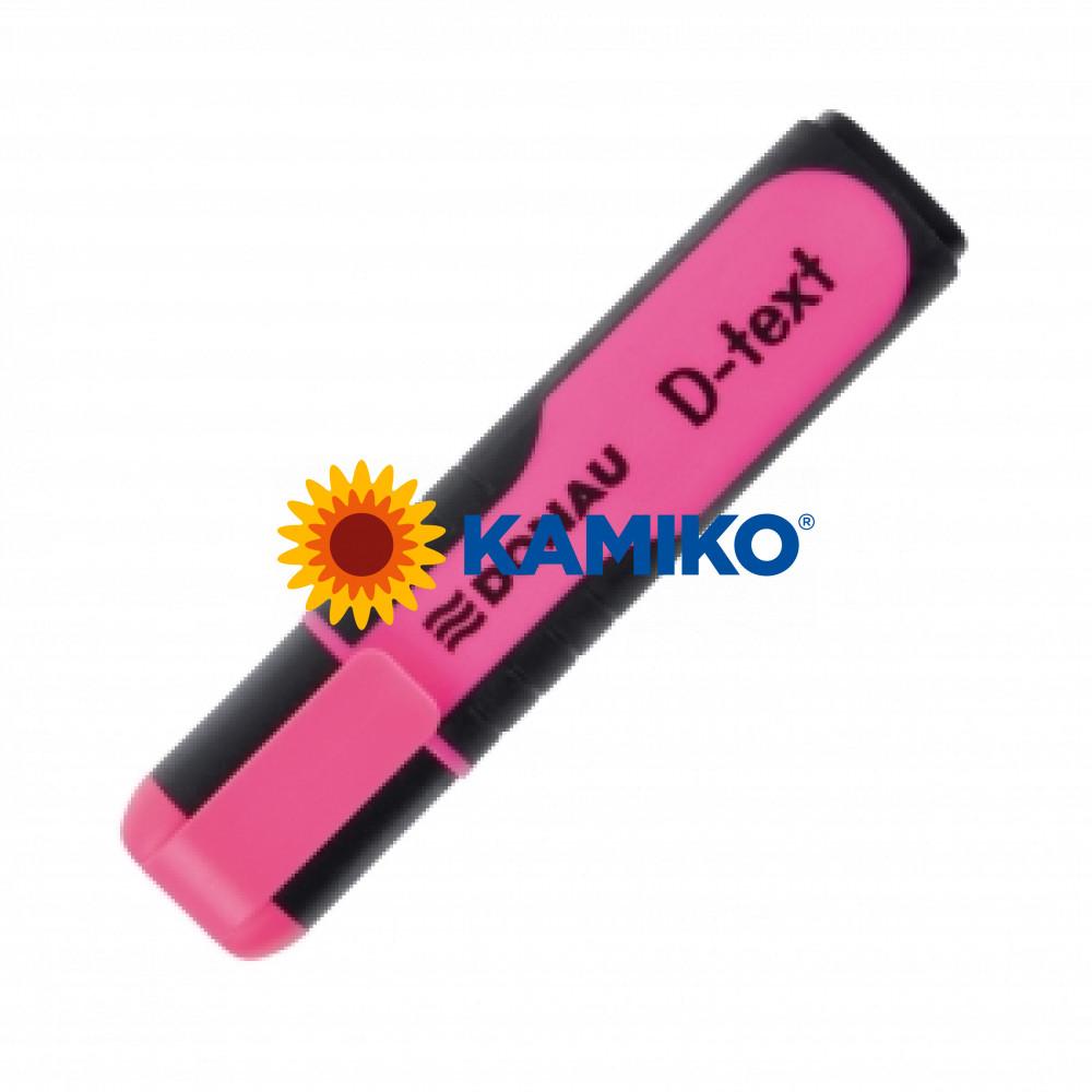 Zvýrazňovač DONAU D-text ružový
