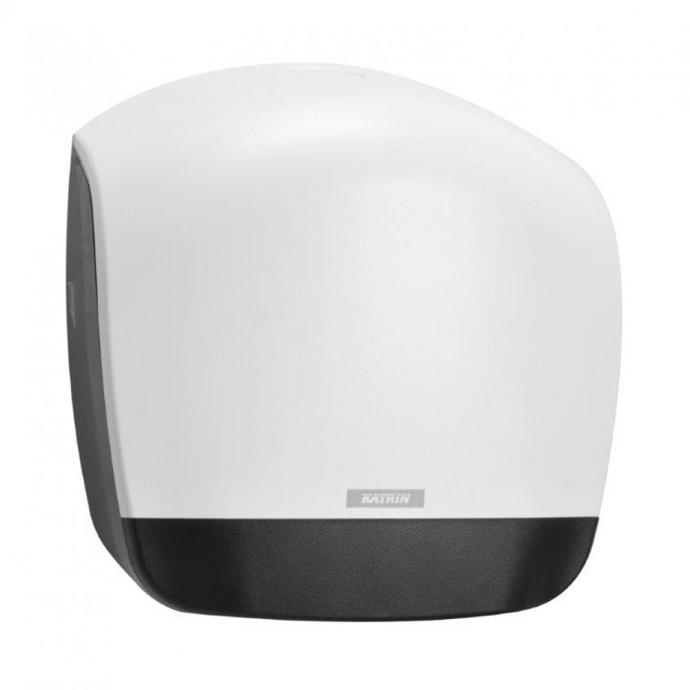 Zásobník toaletného papiera KATRIN Jumbo 26 cm, biely