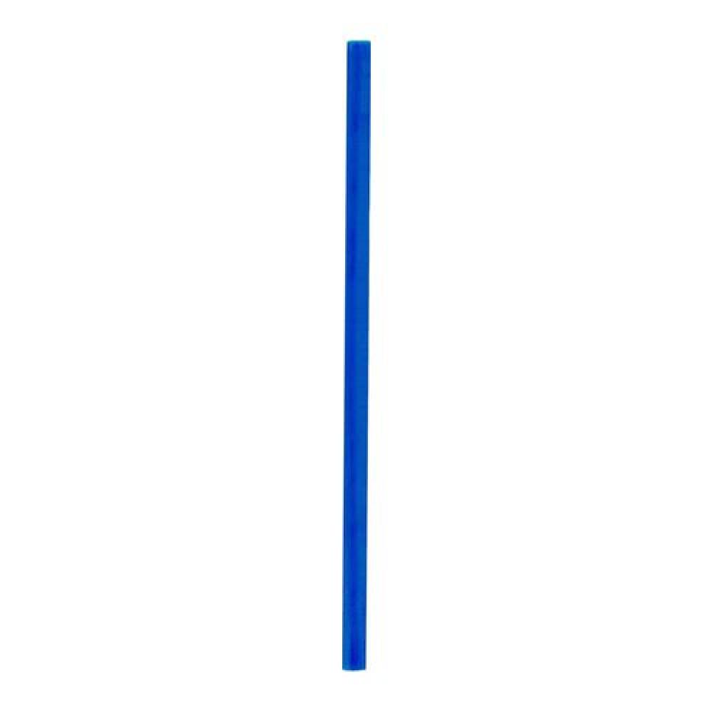 Slamky JUMBO 25 cm, pr. 8 mm, modré