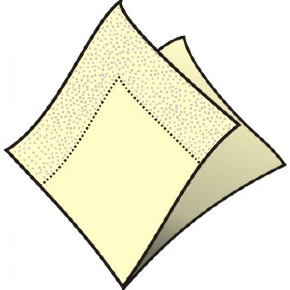 Servítky 33 x 33 cm, 2 vrstvy, krémové