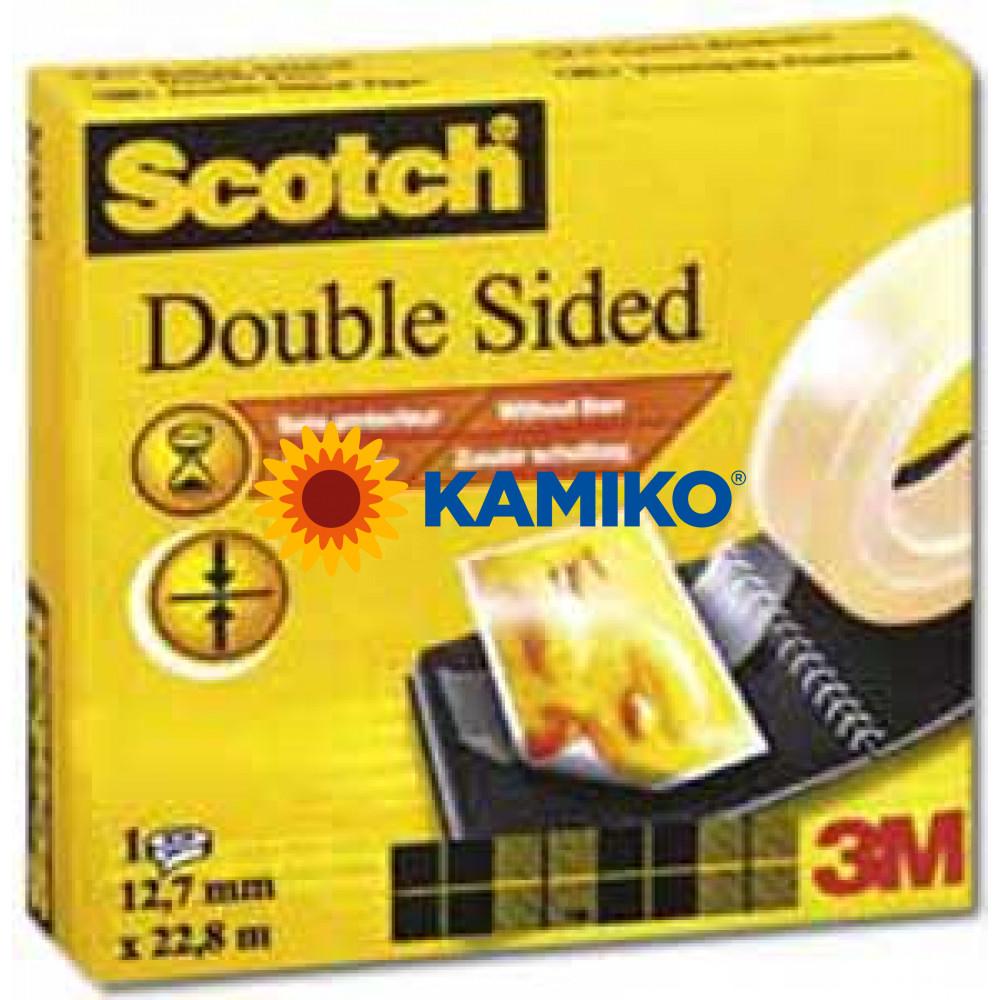 Lepiaca páska Scotch 665 obojstranná v krabičke 12mm x 22,8m