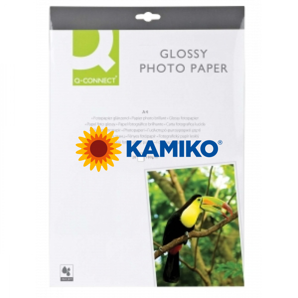 Fotopapier Q-Connect vysoký lesk, 180g, 20 hárkov