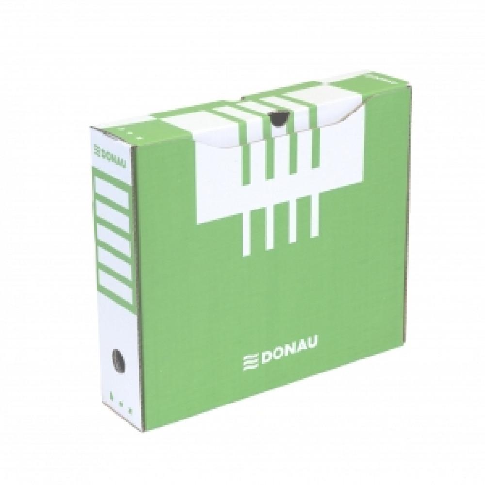 Archívny box 80mm zelený