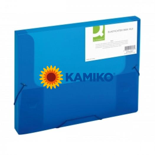 Box na dokumenty Q-Connect modrý