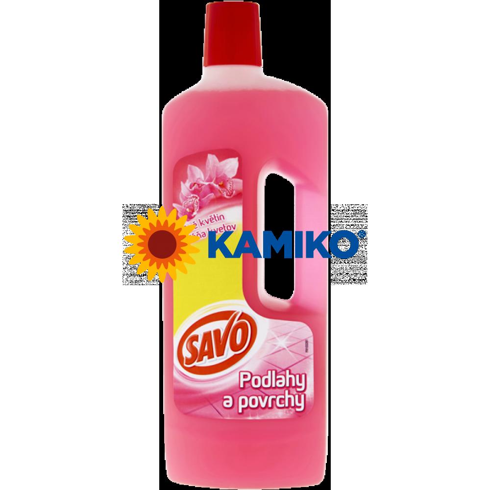 Savo Podlahy a povrchy Vôňa kvetov univerzálny čistiaci prostriedok 750 ml