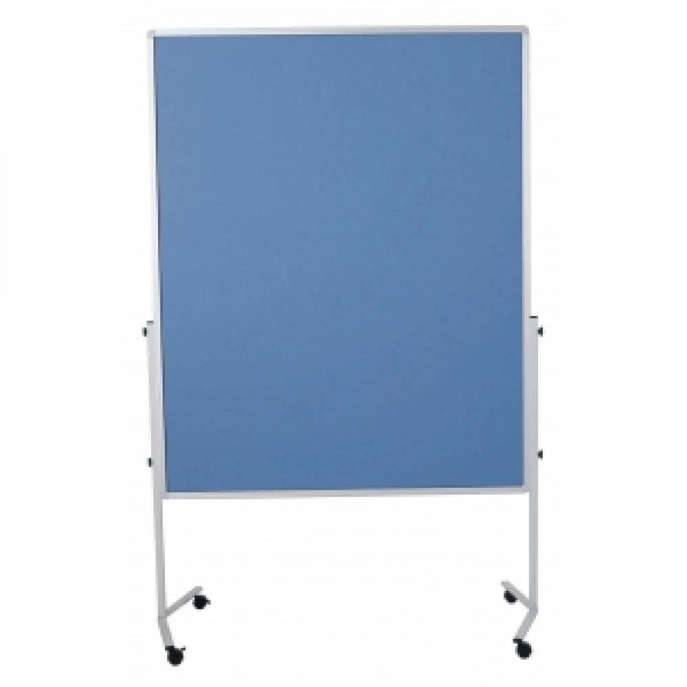 Moderačná tabuľa 150x120 cm modrosivá