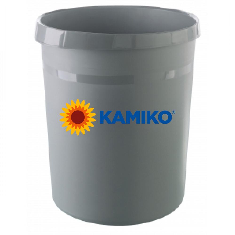 Kôš plastový KARMA 18l eko - sivý