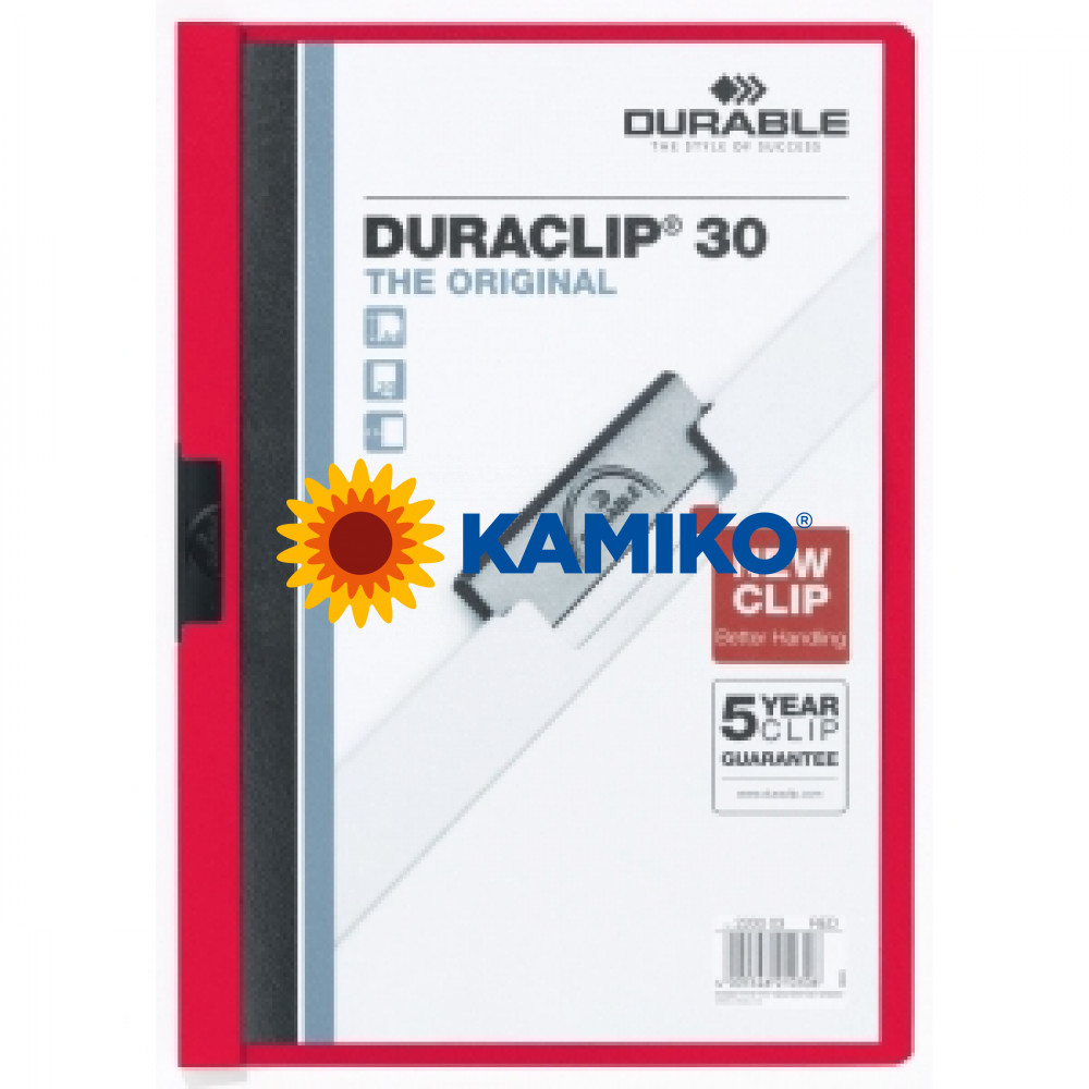 DURACLIP Original 30 červený