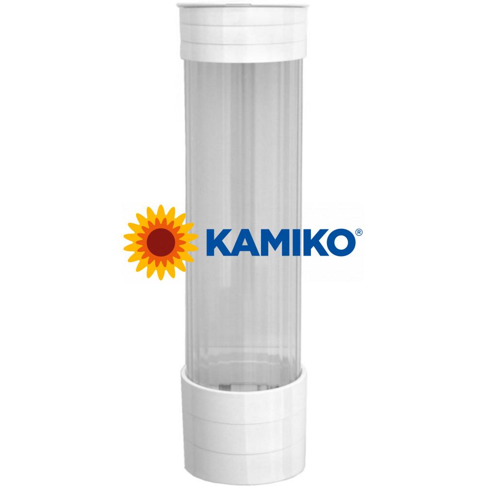 Plastový zásobník pohárov 0,2l, biely