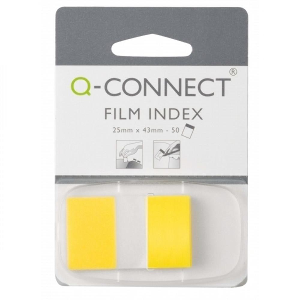 Index Q-CONNECT široký žltý