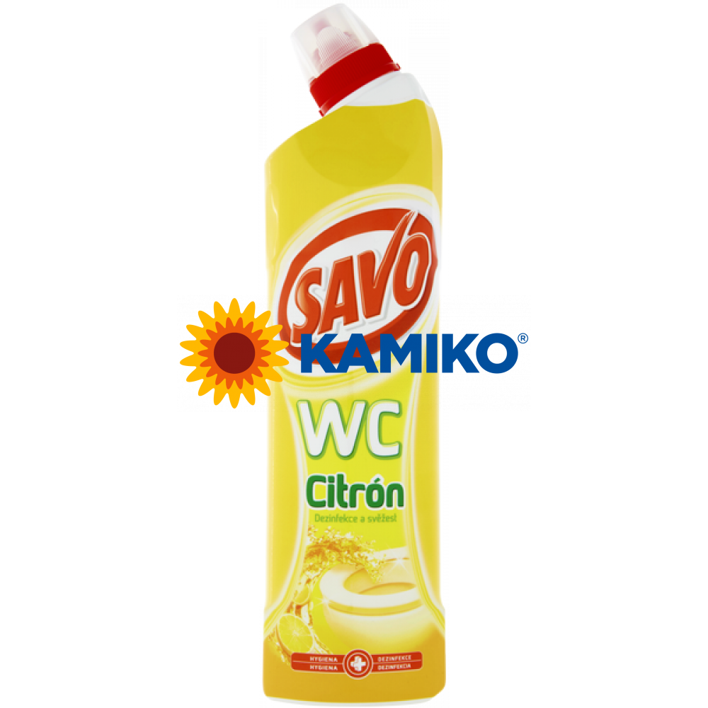SAVO WC 750 ml citrón