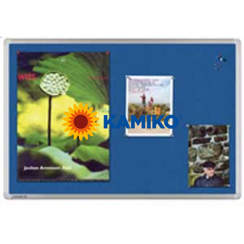 Tabuľa napichovacia UNIVERSAL 100x150 cm modrá
