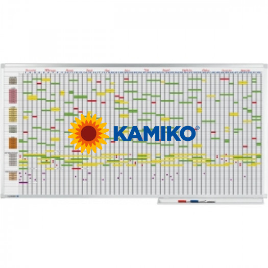 Plánovacia tabuľa PROFESSIONAL 100x200 cm